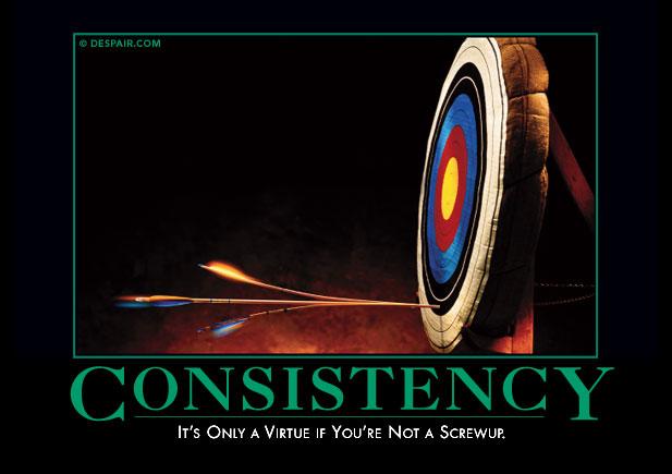 Consistencydemotivator